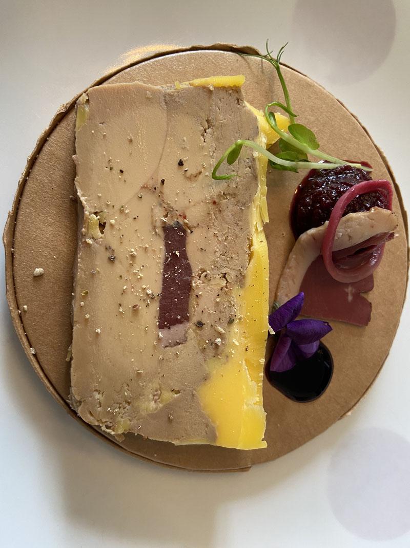 Le foie gras, pour une belle entrée en matière...