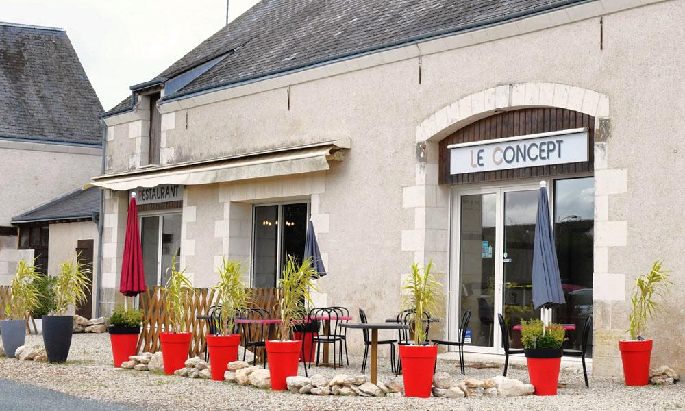 Restaurant Le Concept - A tester en vente à emporter, en attendant des jours meilleurs...
