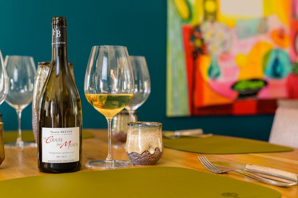 Accords mets et vins : vins blancs, vins rosés ou vins rouges de Touraine pour accompagner les mets du repas.