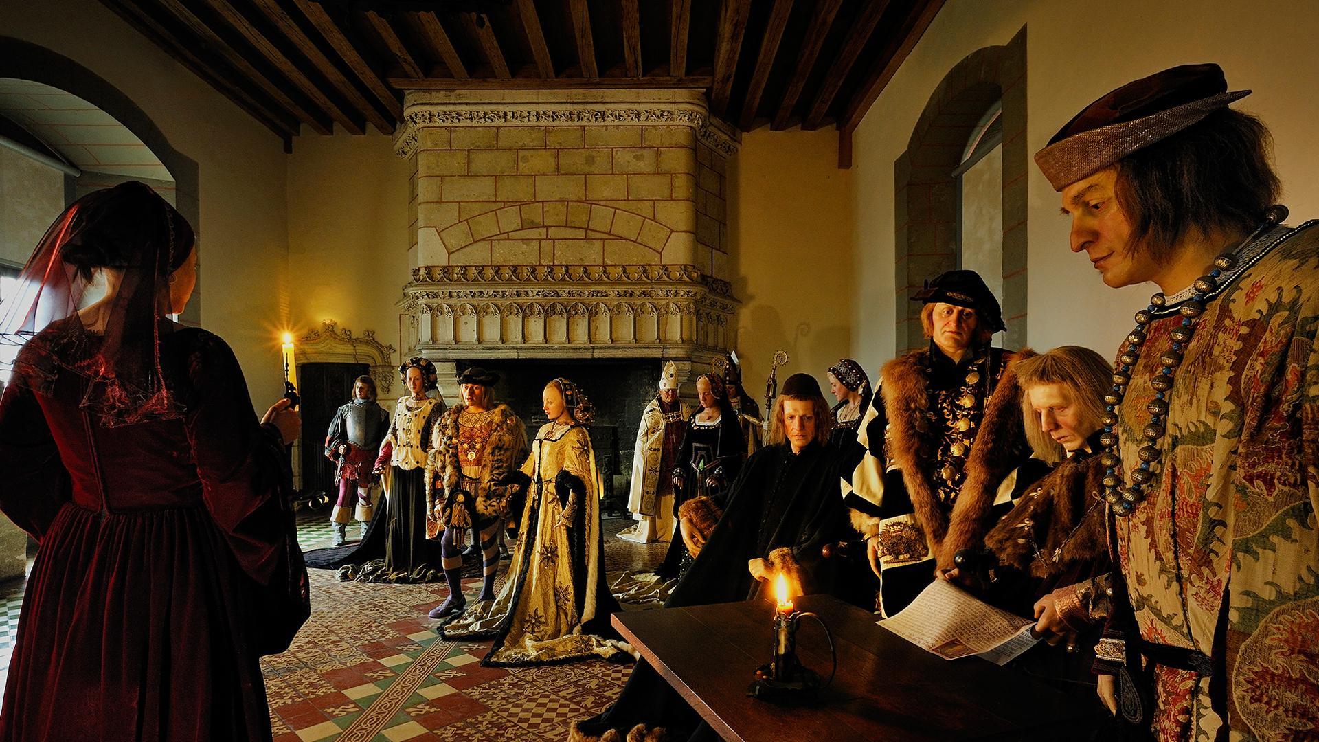 Mariage de Charles VIII et d'Anne de Bretagne