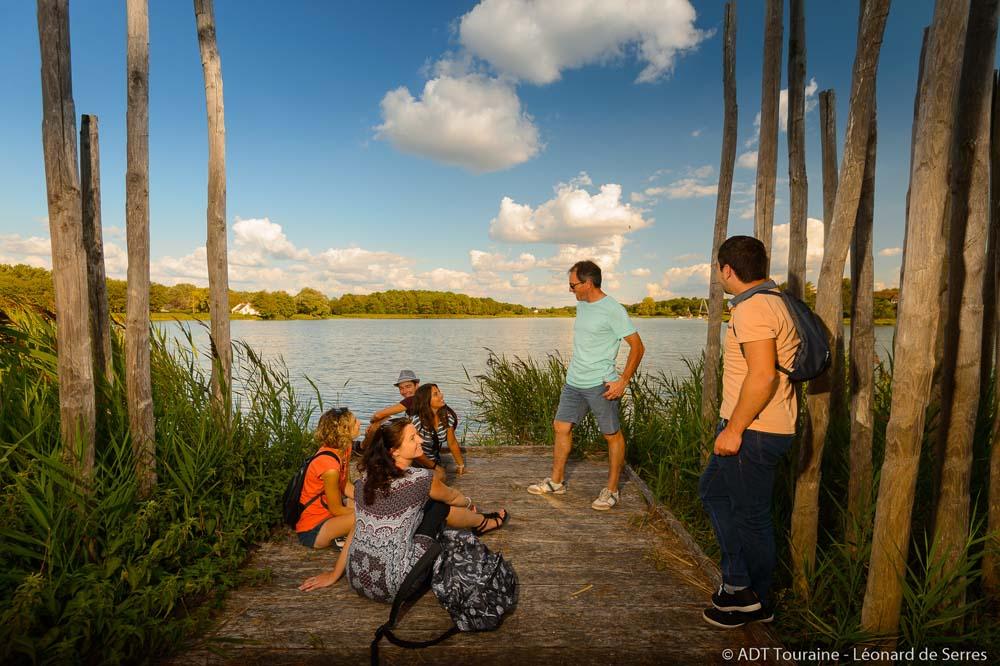 Le lac de Rillé, un lieu de convivialité !