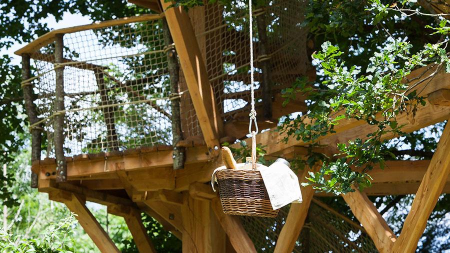 Séjour en amoureux dans une cabane de la Batelière sur Loire - Bréhémont