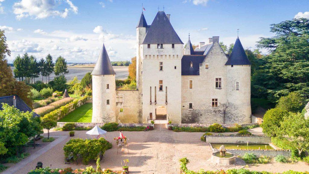 Le Château du Rivau, près de Chinon.