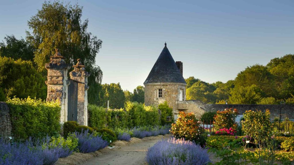 Les parcs et jardins remarquables la touraine le jardin for Le jardin de france