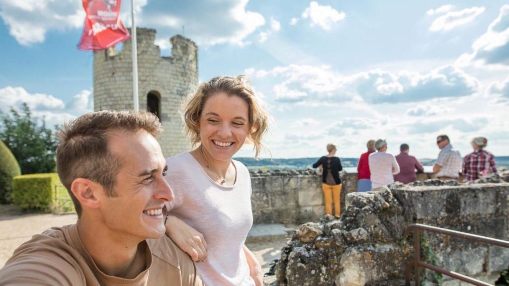 Week-end en amoureux à la forteresse royale de Chinon - Vacances en Touraine