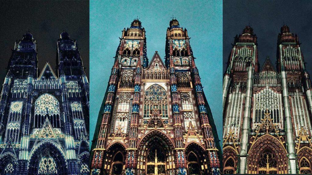 Visiter Tours - Les illusions de la Cathédrale Saint-Gatien