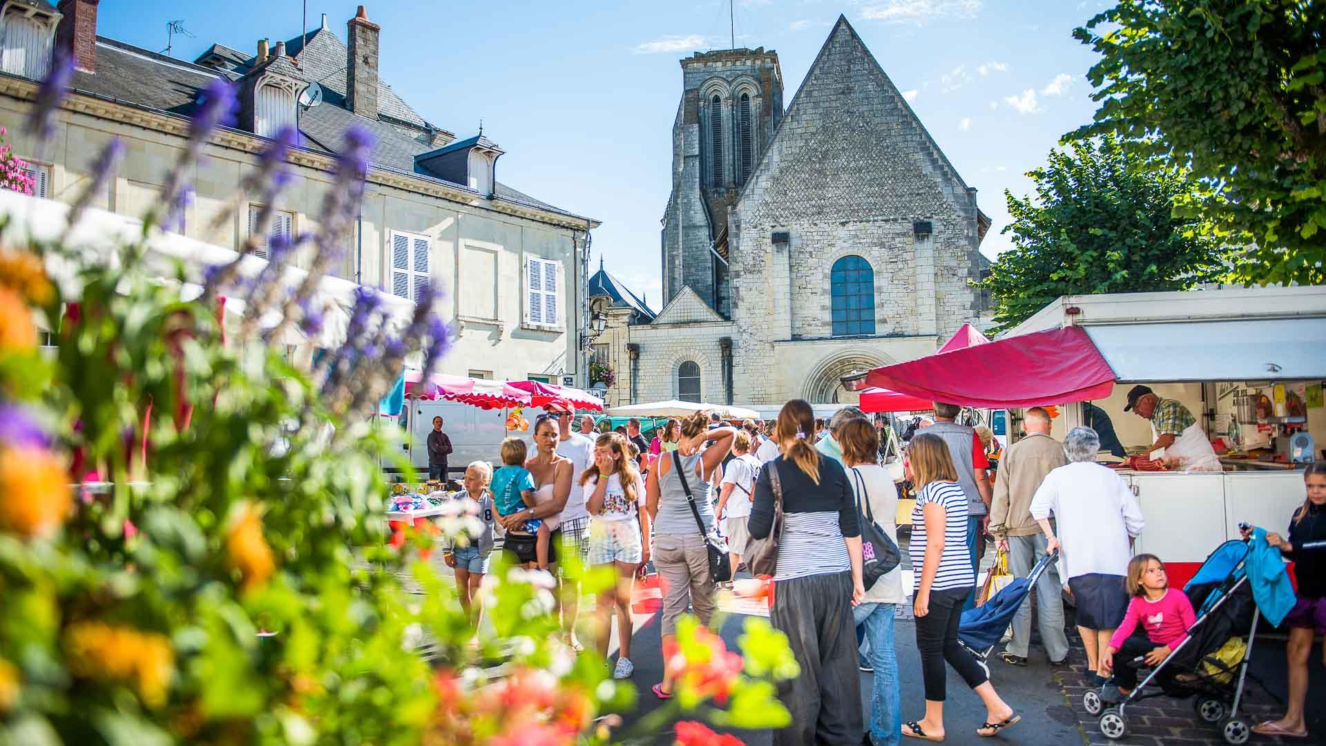 Marché de Bourgueil