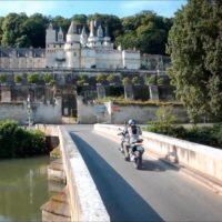 Visiter la Touraine à moto