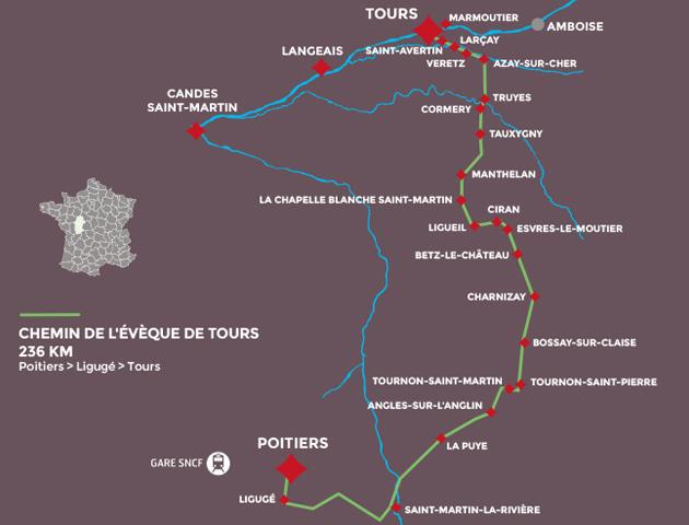 Chemins de Saint Martin