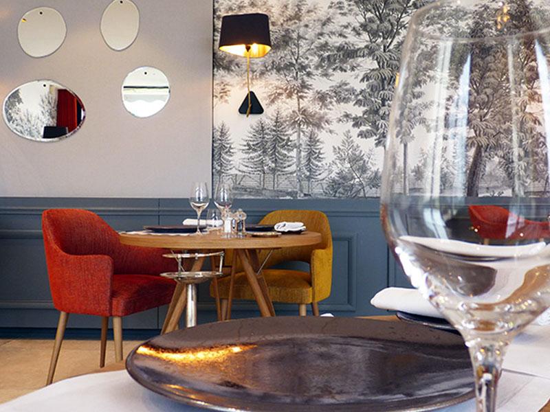 Domaine de la Tortinière - Le restaurant