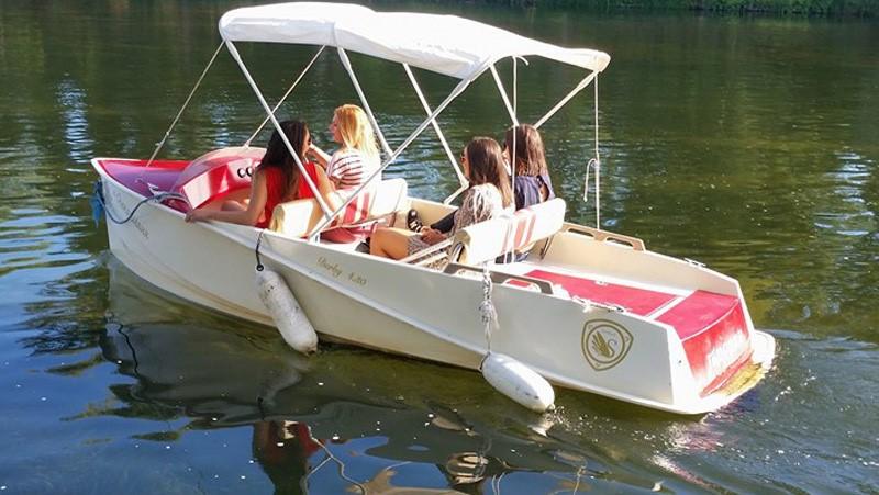 Chenonceaux en bateaux - Bateau électrique sans permis
