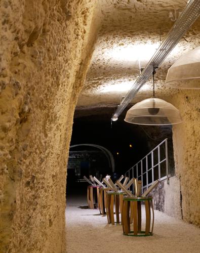 Les Caves Duhard. Visite oenotourisme à Amboise, en Val de Loire.