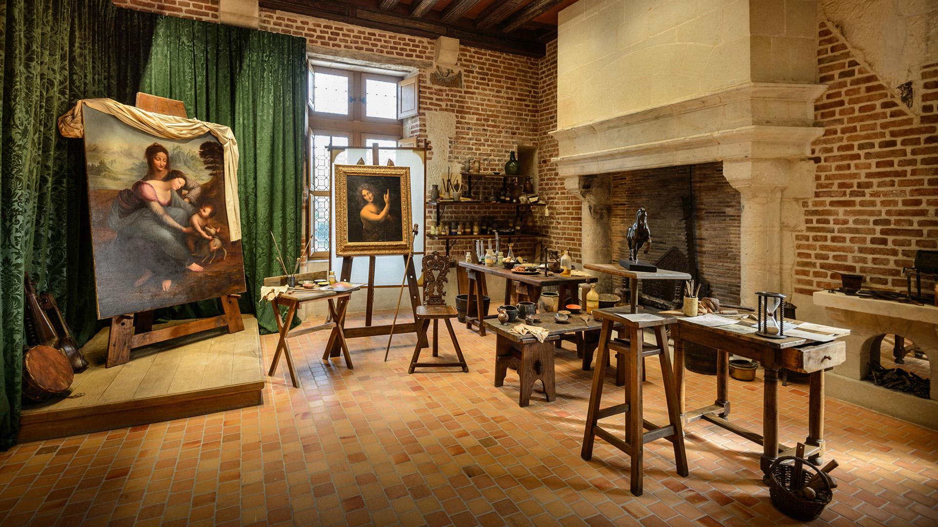 L'atelier de Léonard de Vinci
