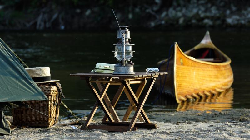 Bivouac - Descente de la Loire en canoë