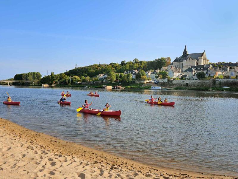 Canoë sur la Loire - Candes-Saint-Martin