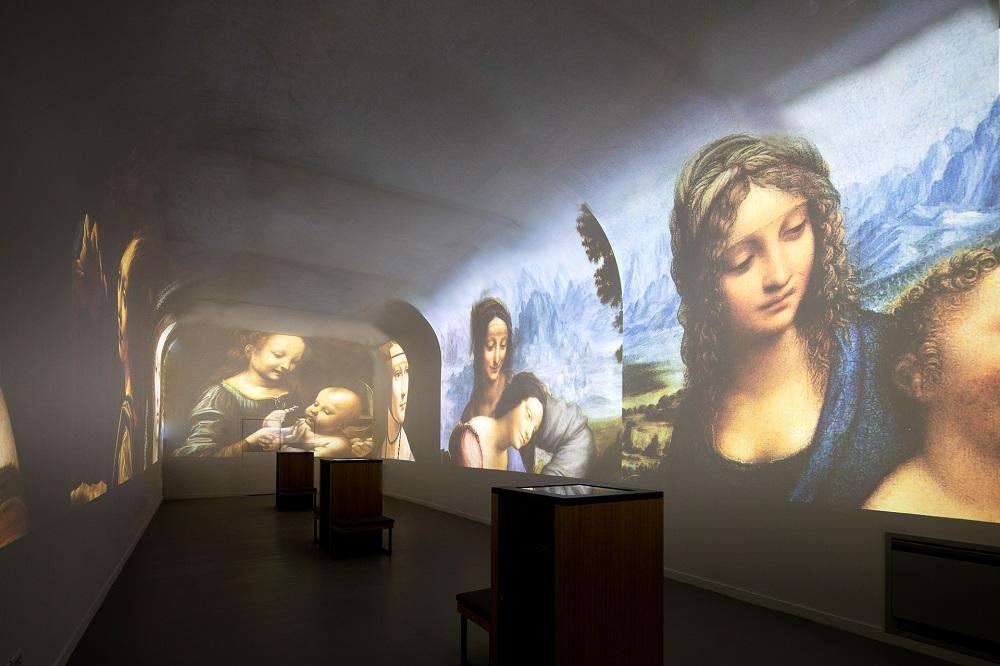 Spectacle immersif © Château du Clos Lucé - Parc Leonardo da Vinci, Amboise. Photo : Eric Sander