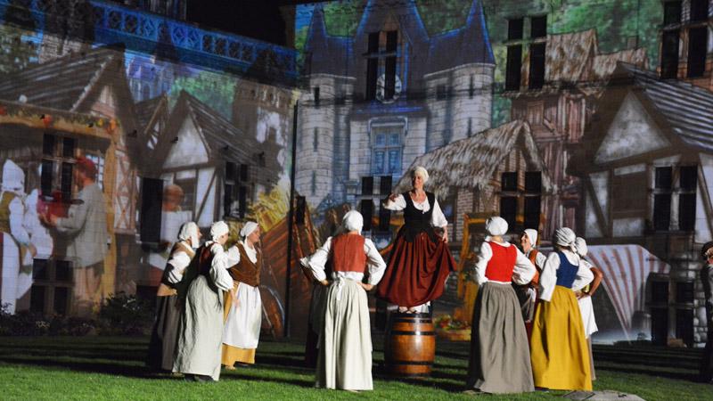 La Prophétie d'Amboise - Spectacle sons et lumières au château royal d'Amboise
