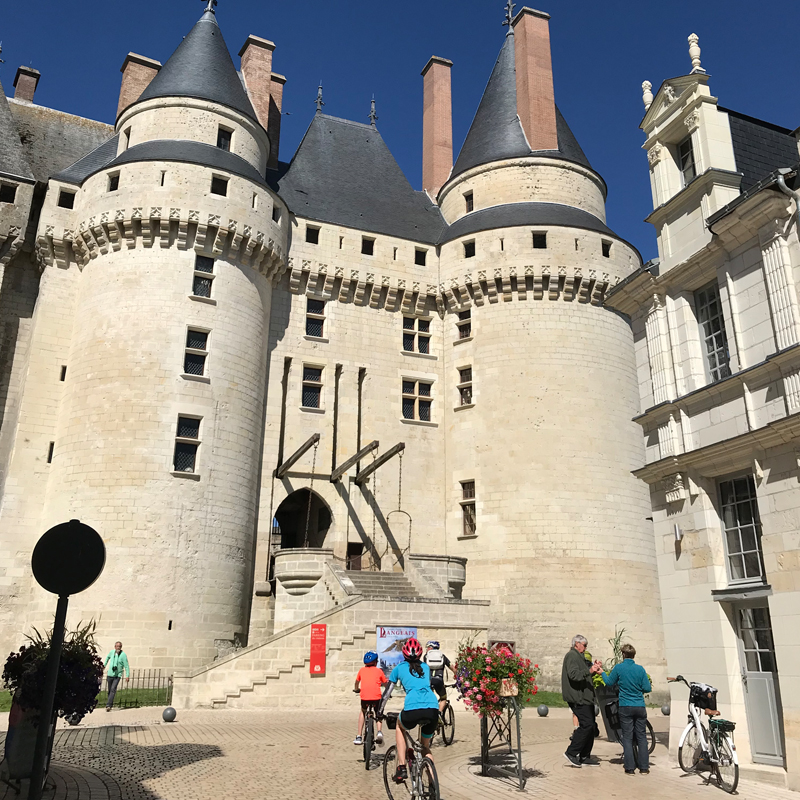 Le château de Langeais et son Pont Levis - Crédit Photo : Frédérique Bonnargent, ADT Touraine