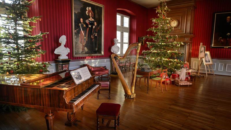 Noël au pays des châteaux - Amboise - Léonard de Serres