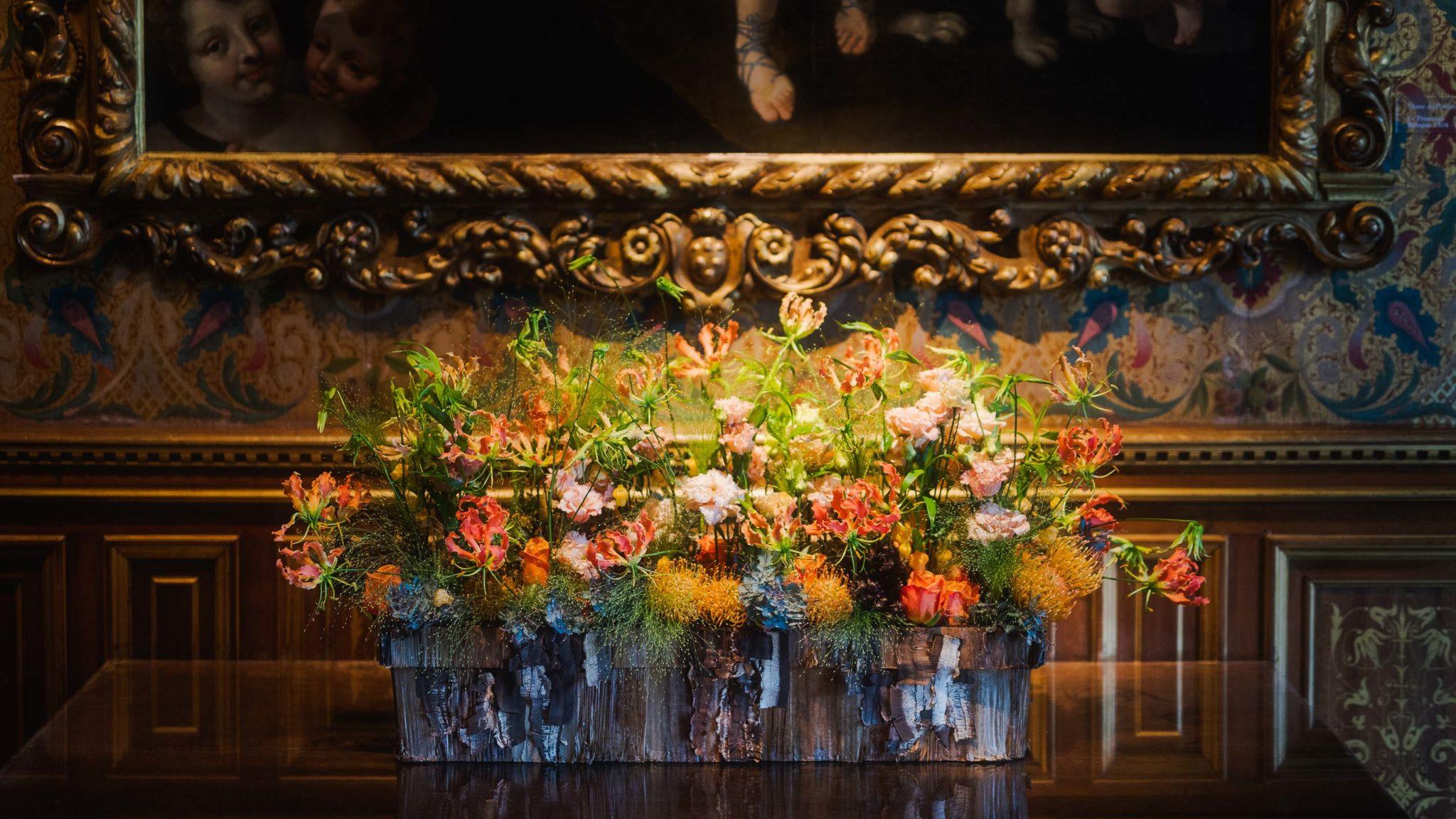 Les décorations florales du château de Chenonceau