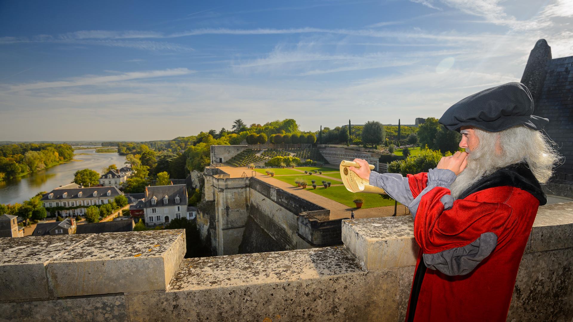 Visite au château royal d'Amboise