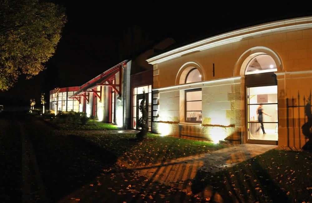 Un beau bâtiment du 18ème siècle / Crédit photo : Spa Les Bains-Douches