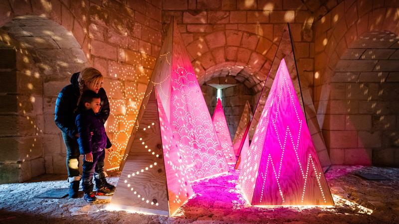 Noël au pays des châteaux - Chinon