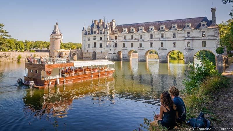 La Bélandre et le château de Chenonceau
