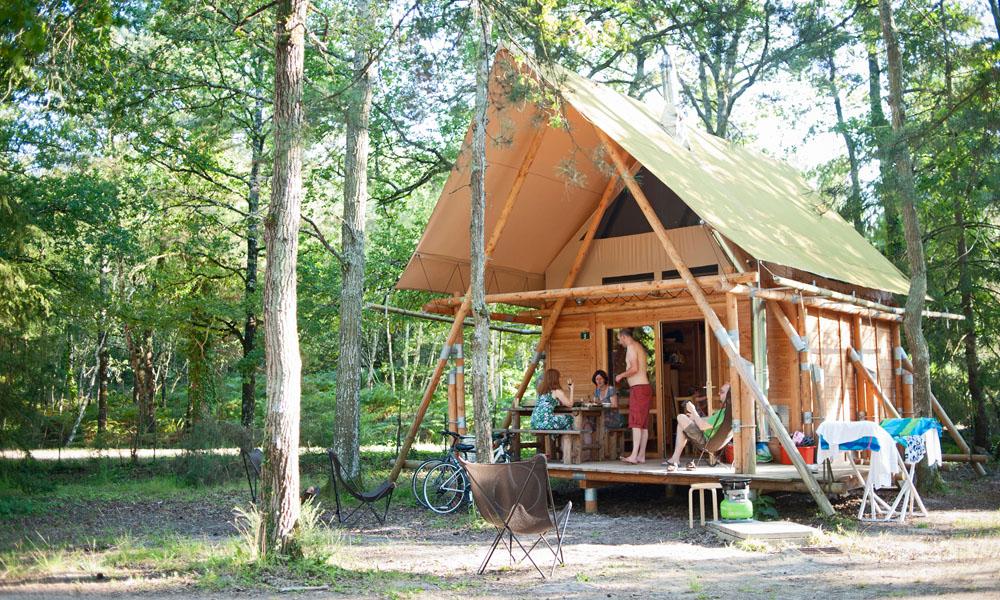 Camping Huttopia - Rillé