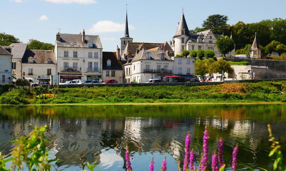 Le Cher à Véretz - Cœur de France à vélo