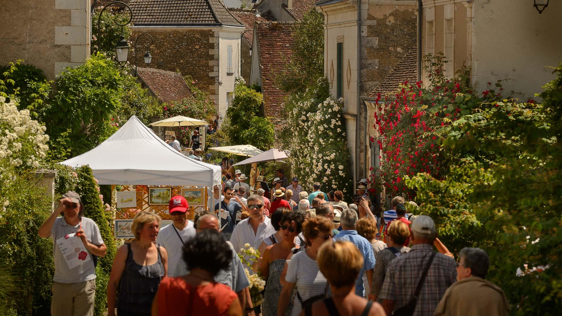 Le village de Chédigny