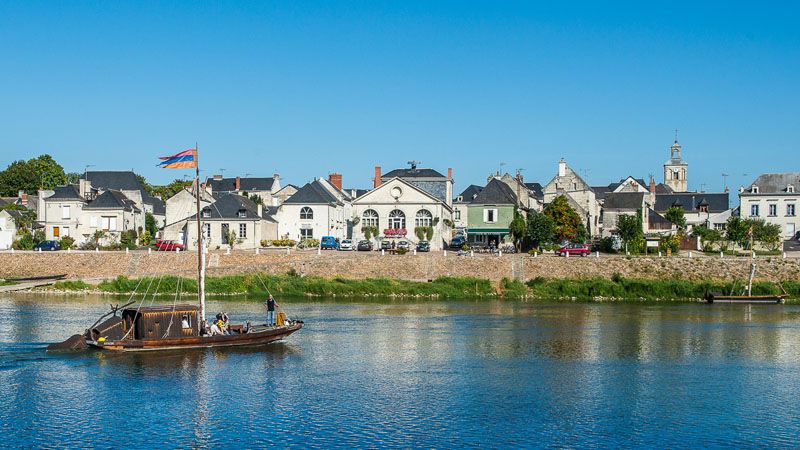 Chouzé-sur-Loire - Le vignoble de Bourgueil à vélo