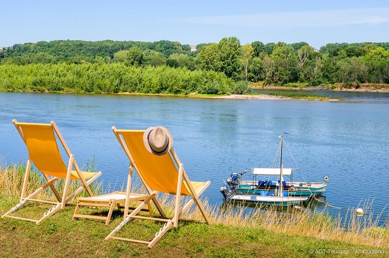 Cabane à Matelot, Brehemont - Balade sur la Loire en bateau avec Les Pêcheries ligériennes.