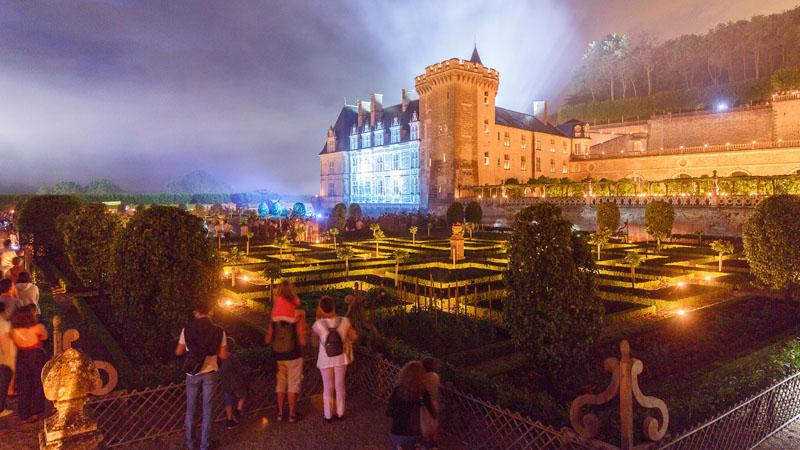 Les nuits des mille feux à Villandry - Crédit photo : Loïc Lagarde