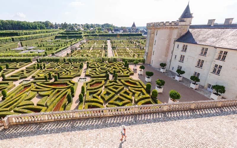 Jardins du château de Villandry / Crédit photo : Loïc Lagarde