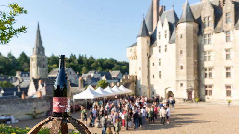Vins de Bourgueil au château de Langeais