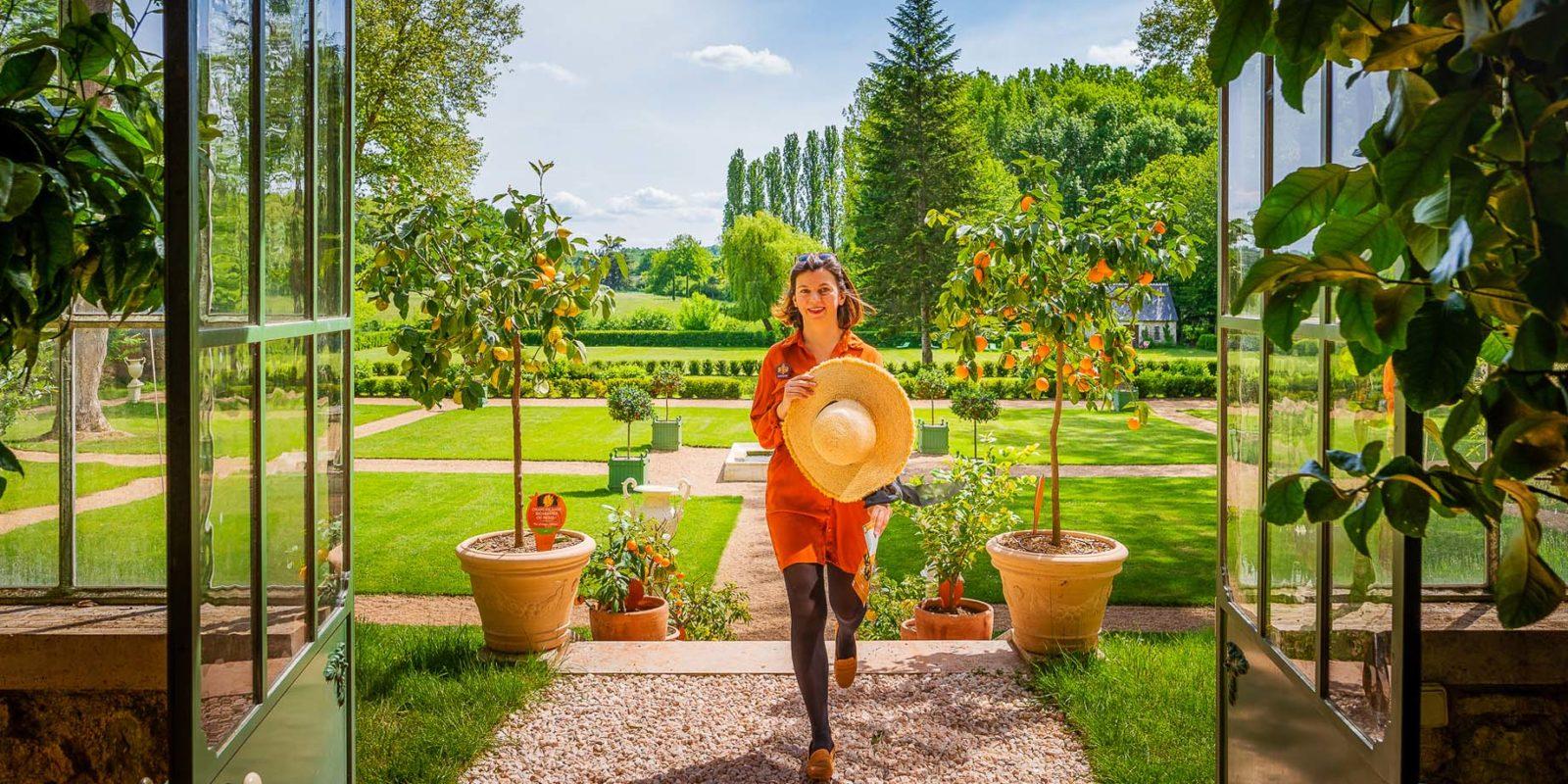 Les parcs et jardins remarquables - La Touraine, le jardin de la ...