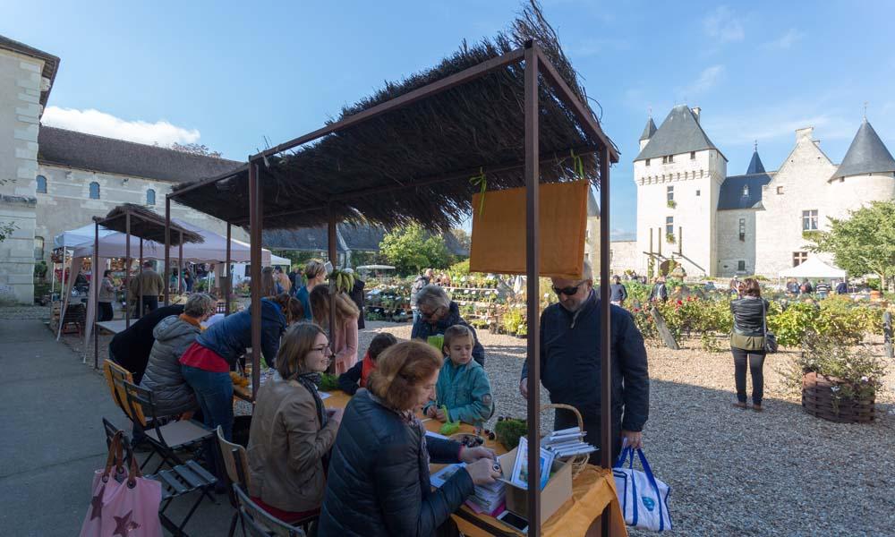 Fête des fleurs d'automne - Château du Rivau