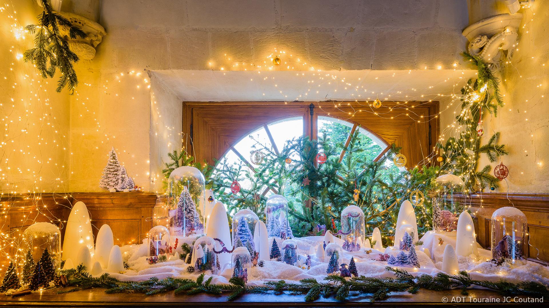 Deco De Noel Dans Le Jardin noël au pays des châteaux - 7 châteaux aux couleurs de noël