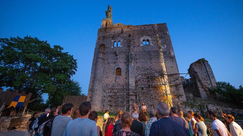 Nuit des châteaux - Forteresse de Montbazon