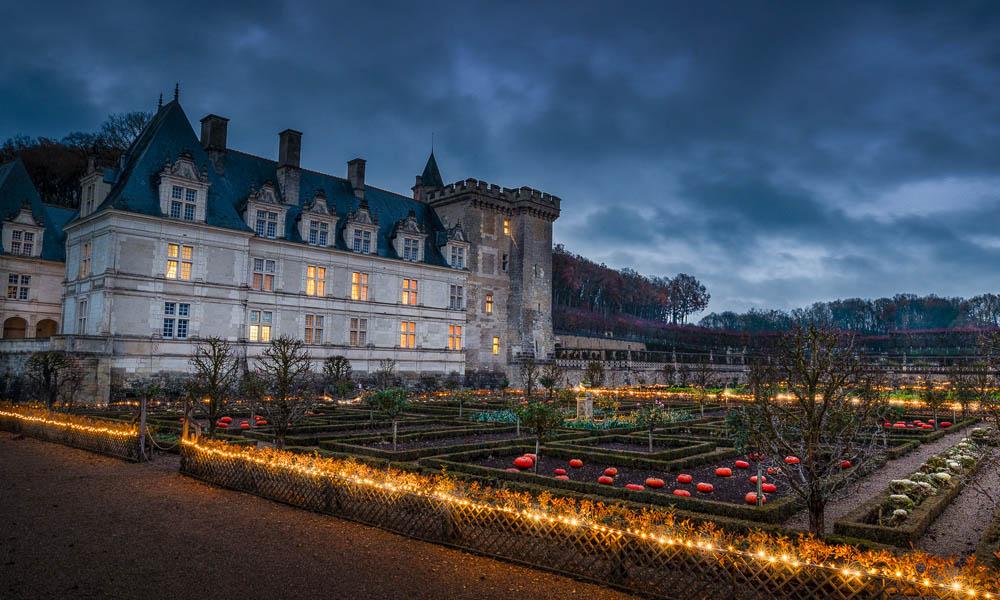 Noël au pays des châteaux - Villandry