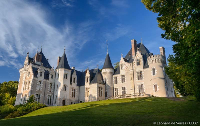 Domaine de Candé, à Monts. Val de Loire, France.
