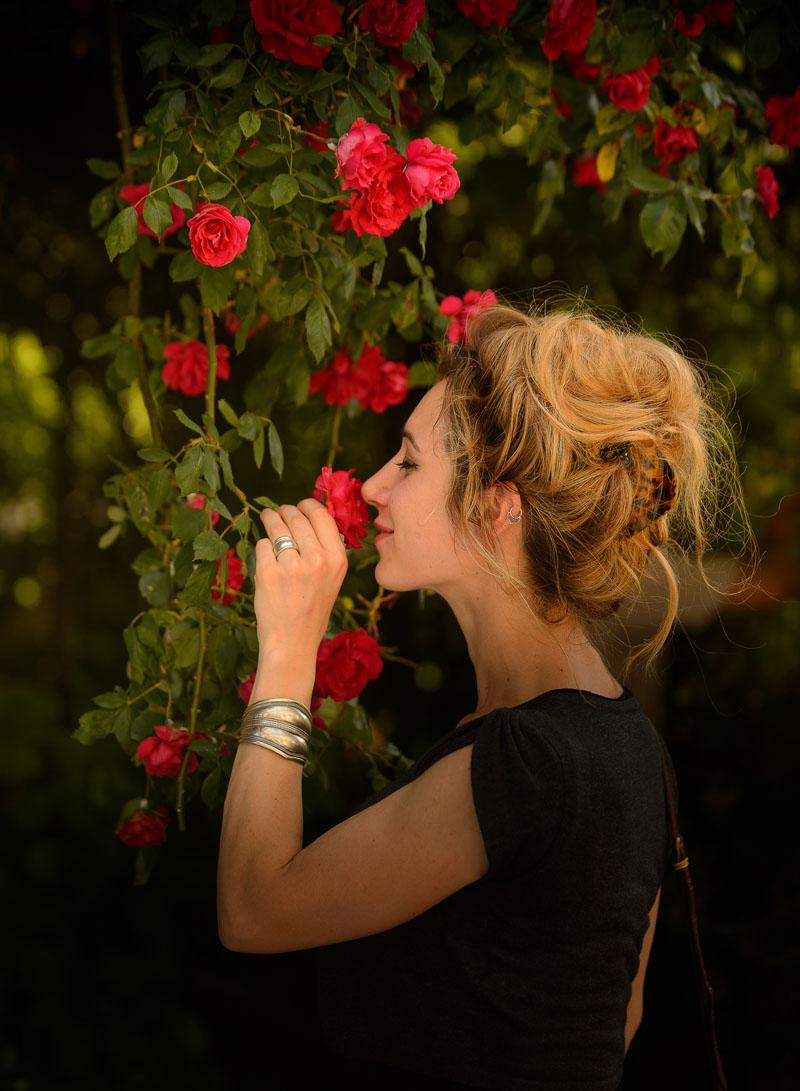 L'odeur des roses du village jardin de Chédigny