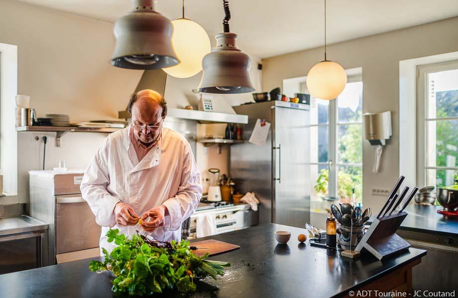 Vincent en cuisine