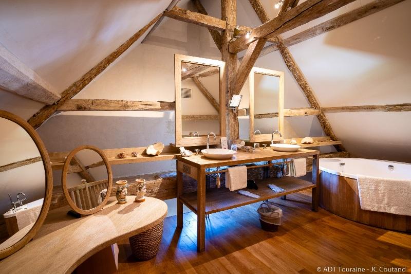 Dormir au jardin - Hôtel du château du Rivau