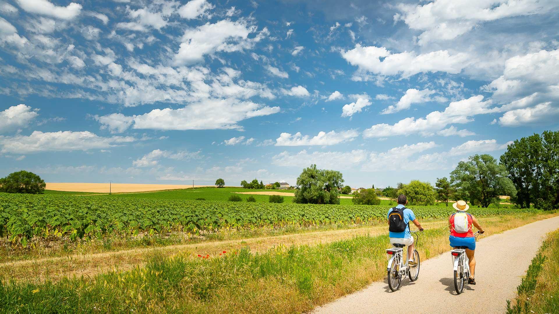 En roue libre : la voie verte Richelieu-Chinon