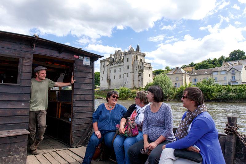 Balade en bateau avec le CPIE Touraine Val de Loire - Parc Naturel Loire Anjou Touraine - PNR