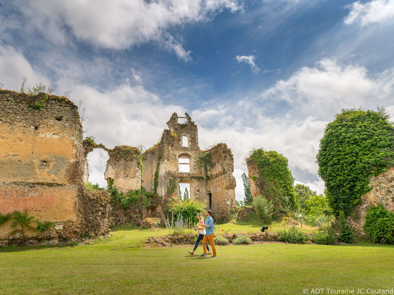 Sorties du week-end en Indre-et-Loire : les ruines du château de Vaujours