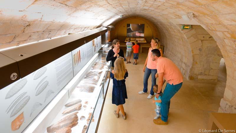 Idée de visite pour les vacances de la Toussaint : le musée de la préhistoire du Grand-Pressigny.
