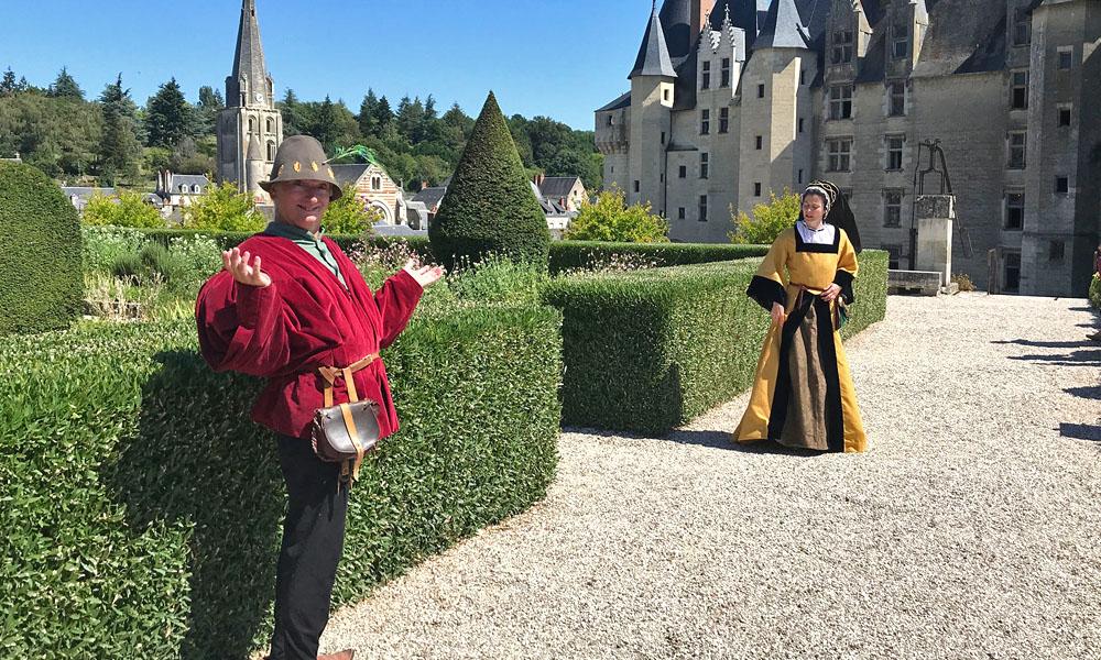 Saynète - Château de Langeais